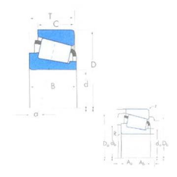 المحامل AB32010X/YKB32010X Timken