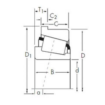 المحامل A2037/A2126-B Timken