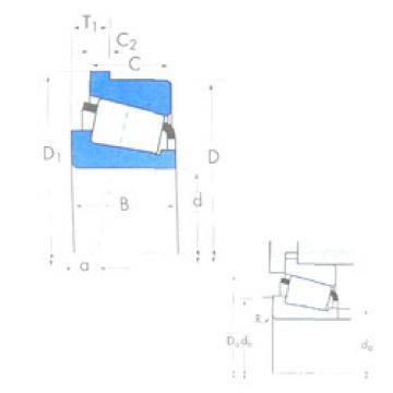 المحامل A6075/A6157B Timken
