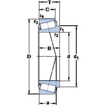 المحامل BT1B 334140/HA4 SKF
