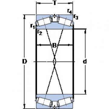 المحامل BT2B 331854/HA1 SKF