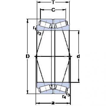 المحامل BT2B 332506/HA2 SKF
