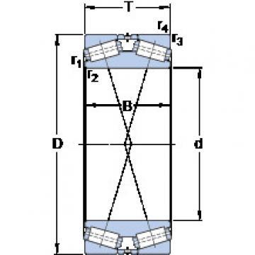 المحامل BT2B 328306/HA4 SKF