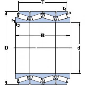 المحامل BT4B 334147/HA1 SKF