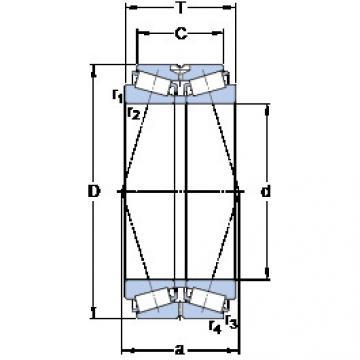 المحامل BT2B 332605 A/HA1 SKF