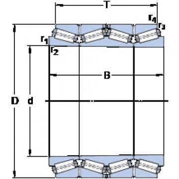 المحامل BT4B 332720/HA4 SKF