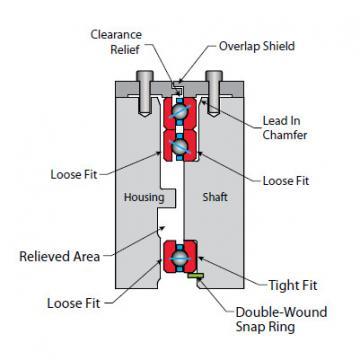 Bearing NA025CP0
