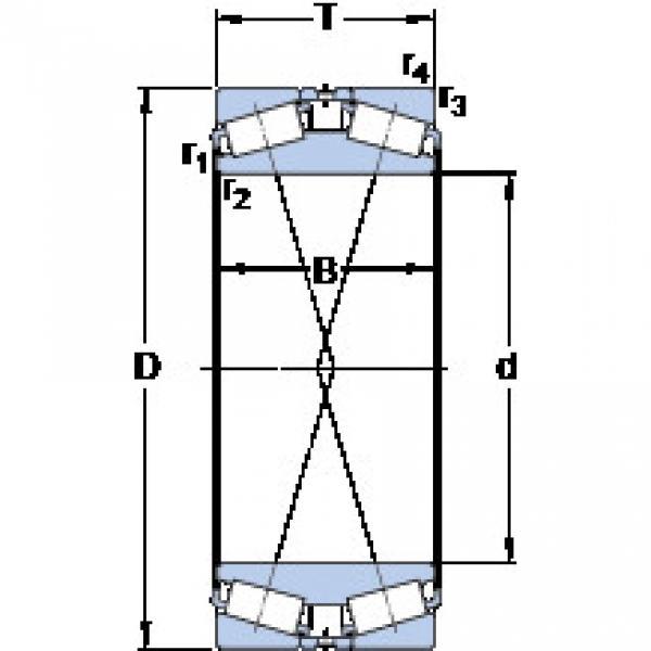 المحامل BT2B 332536/HA1 SKF #1 image