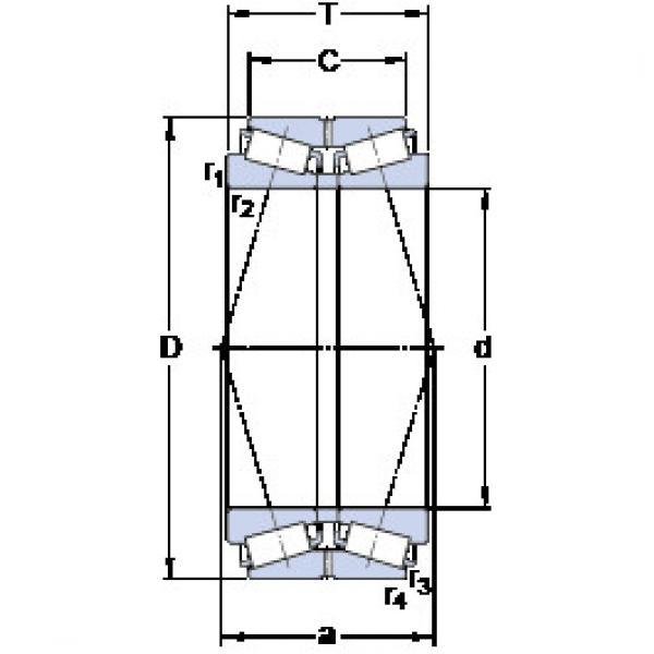 المحامل BT2B 332604/HA1 SKF #1 image