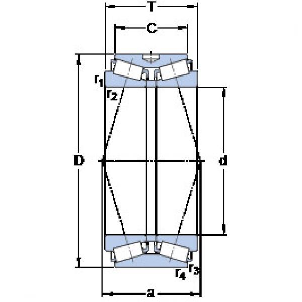المحامل BT2B 332761 SKF #1 image
