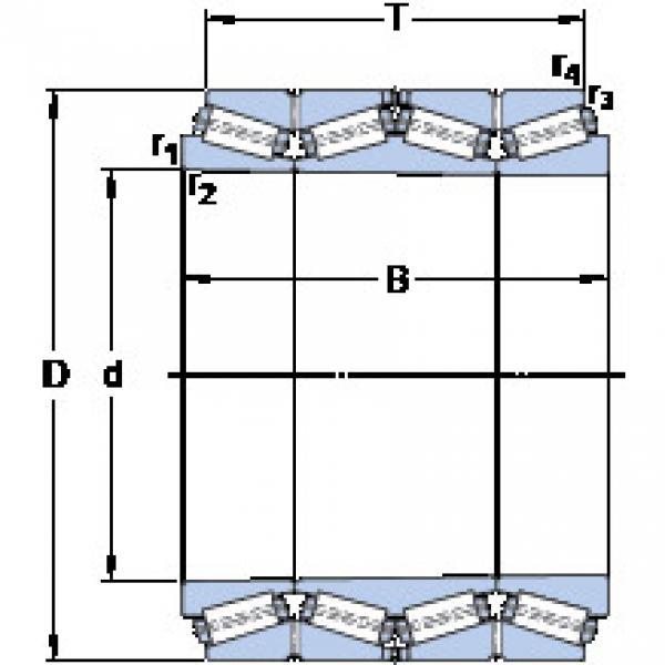 المحامل BT4B 332720/HA4 SKF #1 image