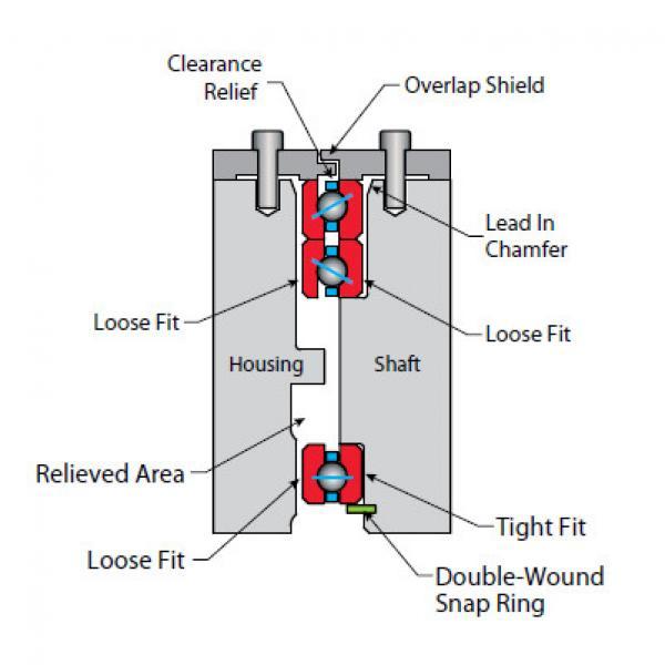 Bearing KC080CP0 #1 image